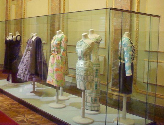 Uma sala na Galeria do Traje. Foto de Wikipedia