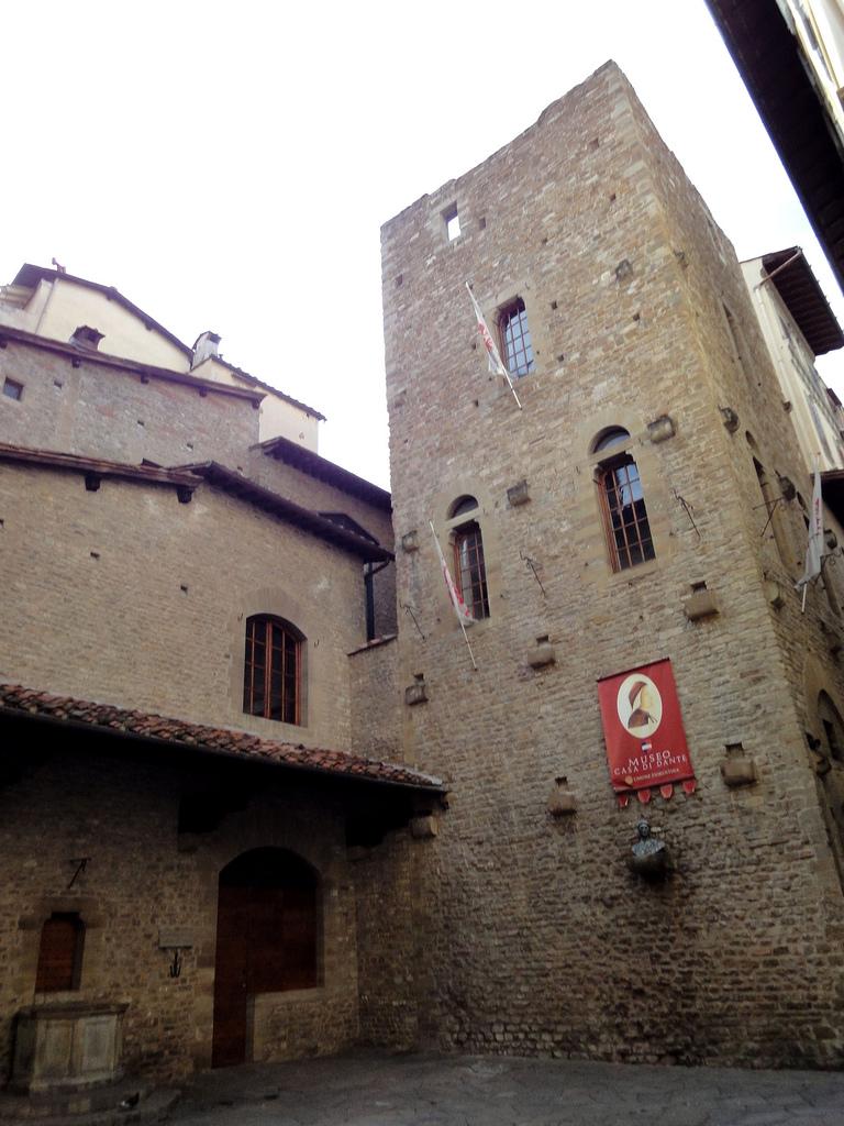 Museu Casa de Dante, Florença. Foto de jimforest