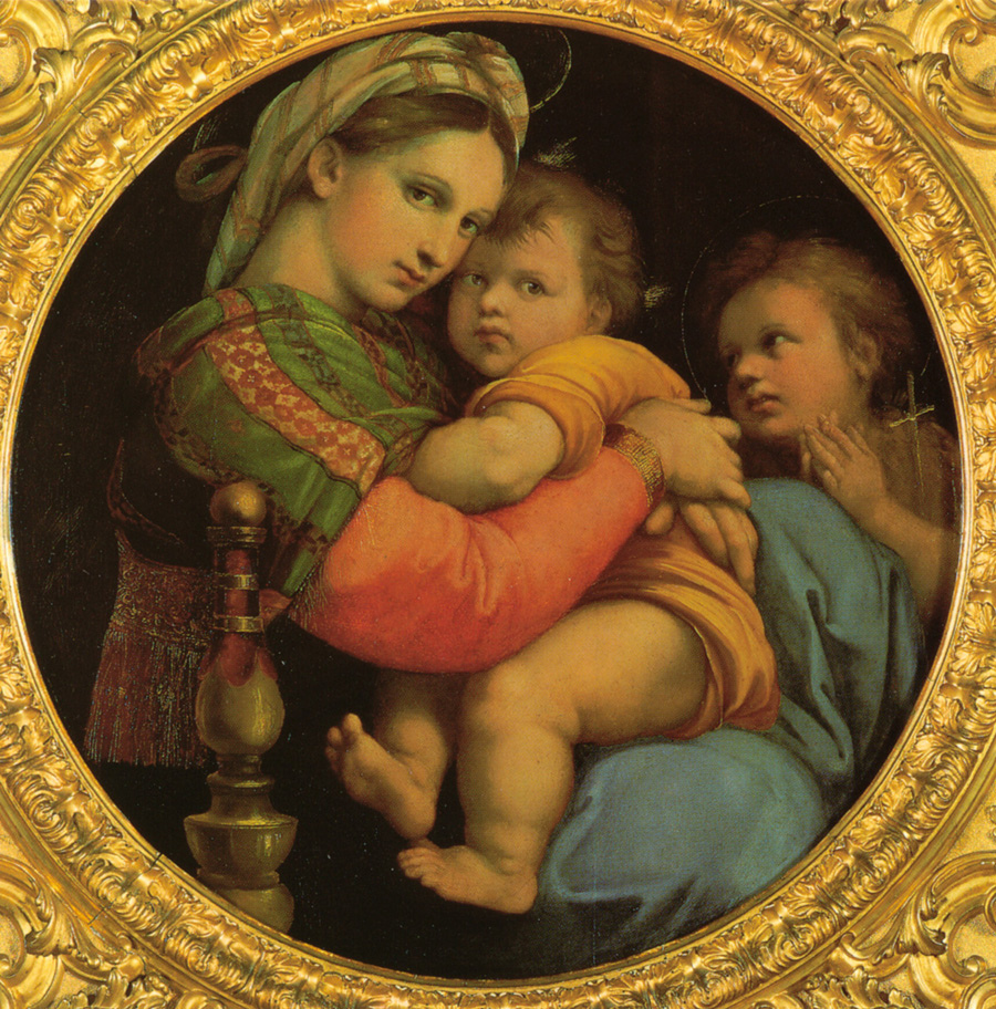 Madonna della Seggiola, Rafael. Foto de FlorenceandTuscanyTour