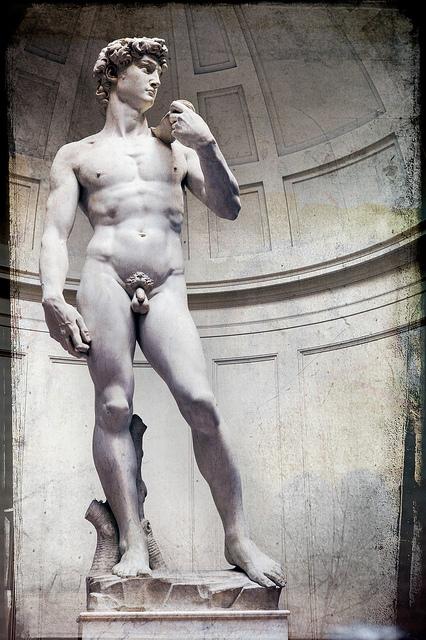 Miguel Ângelo, David (Galeria da Academia, Florença)