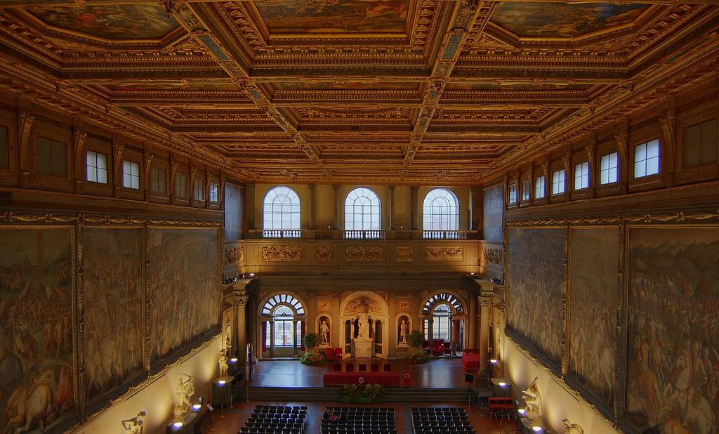 Salone dei Cinquecento - Palazzo Vecchio (Florença)